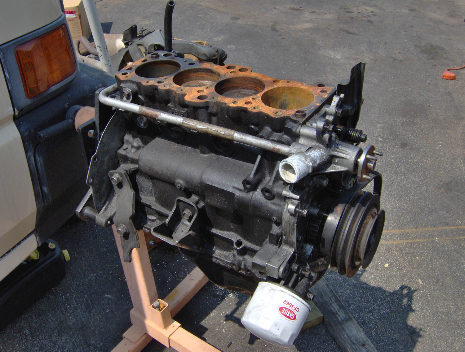 FS '87 4G64 (wide) short block - $100 - NorCal - Parts for